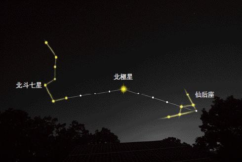 拍摄夜空中的星星